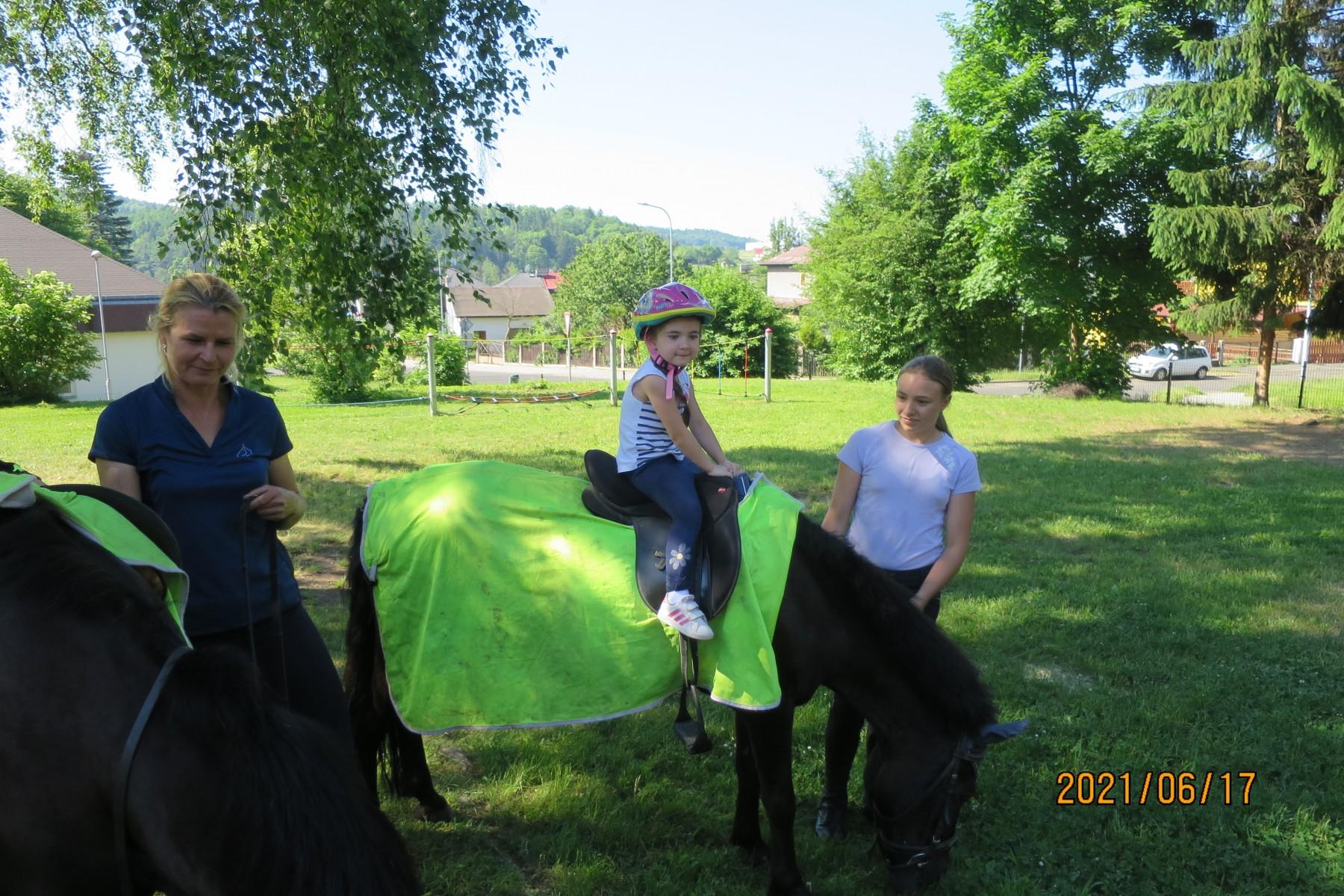 Koně 17.6.2021 zelená třída