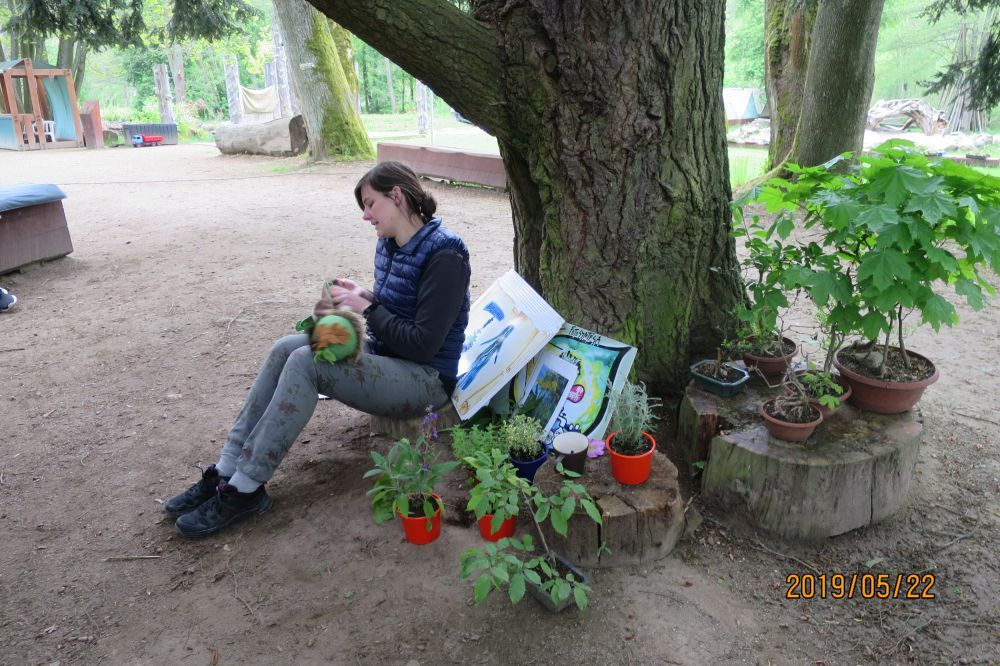 Botanická zahrada 22.5.2019
